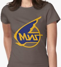 Mikoyan-Gurevich (Russian Aircraft Corporation MiG) Logo Womens Fitted T-Shirt
