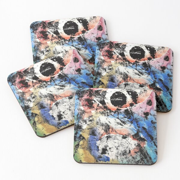 Being and nothingness Coasters (Set of 4)