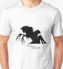 Where my demons hide Unisex T-Shirt