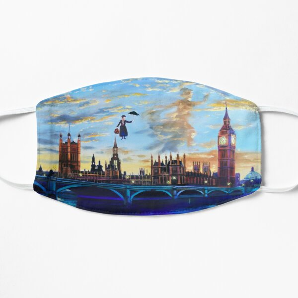 Mary Poppins returns to London Flat Mask
