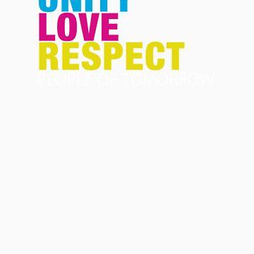 Unity, Love, Respect by swisscreation