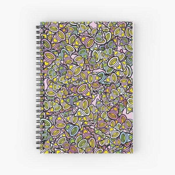 menstrual cup Spiral Notebook