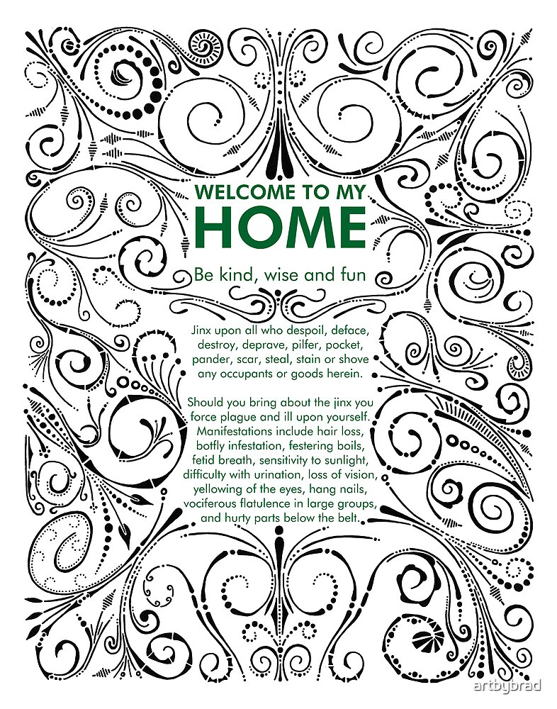 Home Jinx by artbybrad