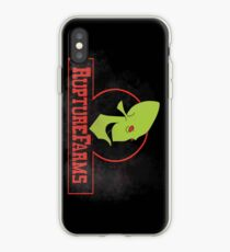 Rupture farms logo iPhone Case