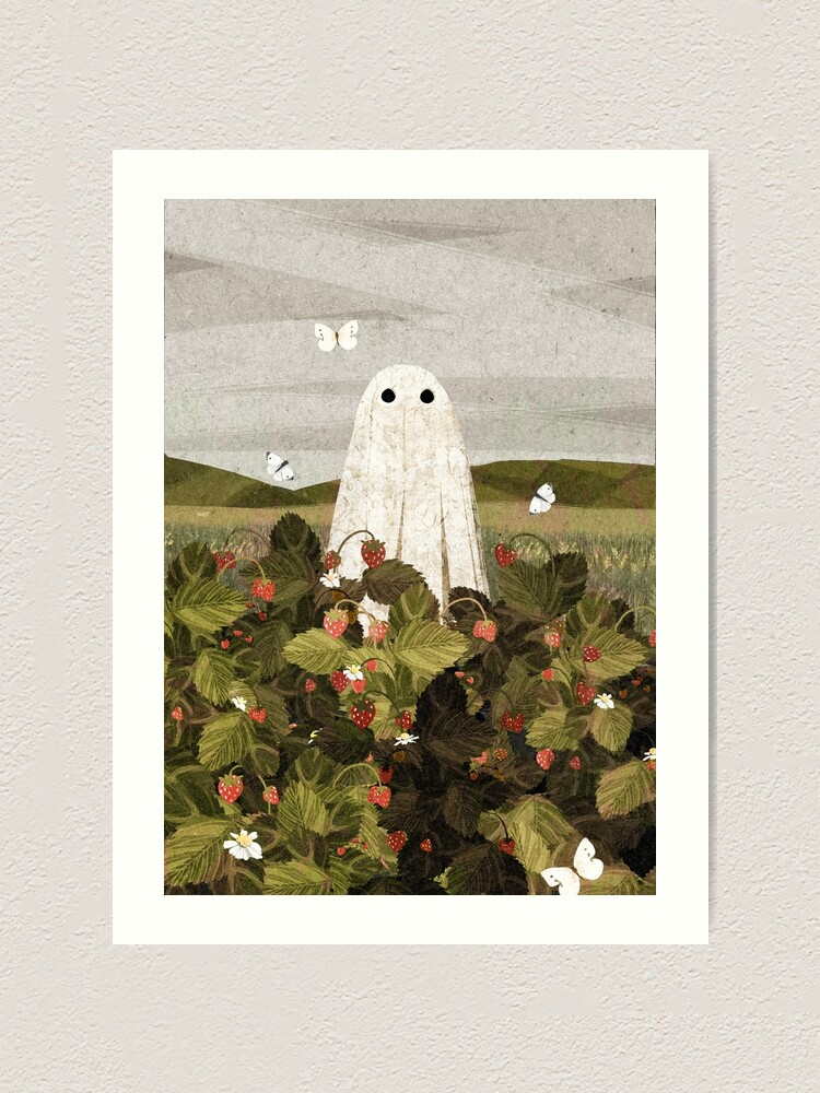 Alternate view of Strawberry Fields Art Print