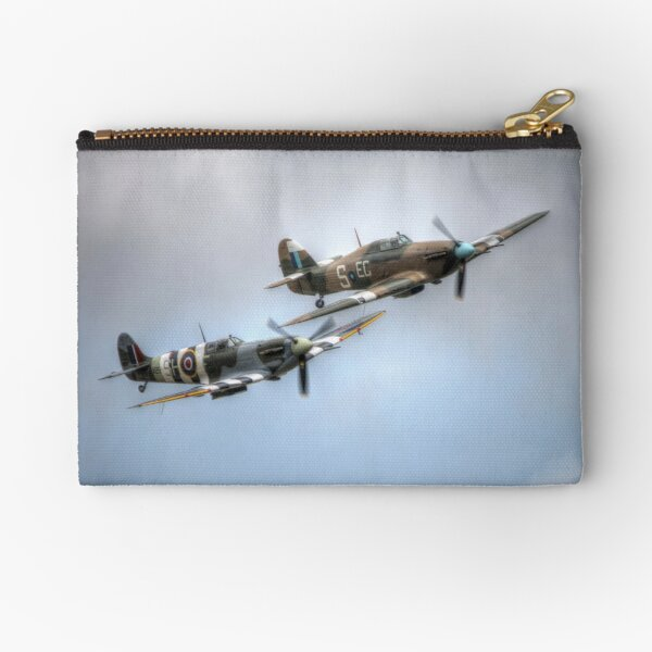 BBMF Spitfire and Hurricane Zipper Pouch