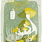 Mushroom Terrarium by Pam Wishbow