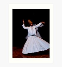 Whirling Dervish Art Print