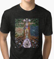 Tree Of Wisdom Tri-blend T-Shirt