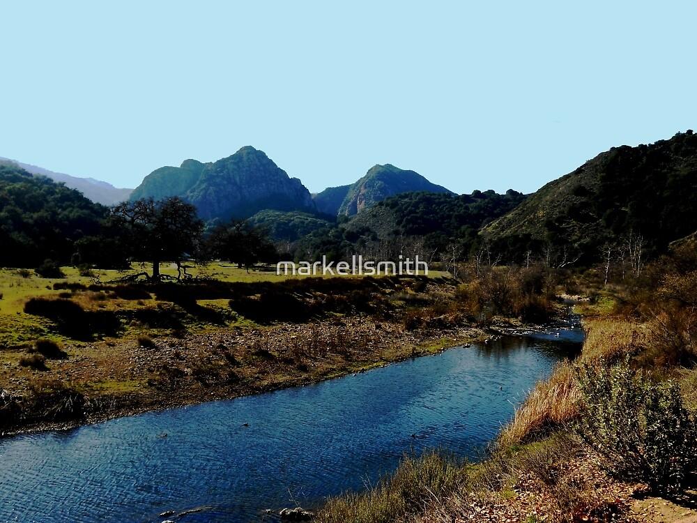 The Malibu Creek  by markellsmith
