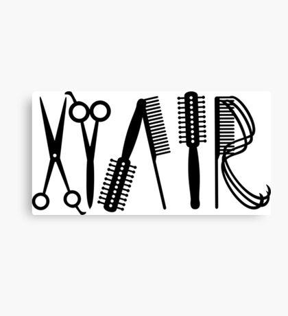 Hair VRS2 Canvas Print