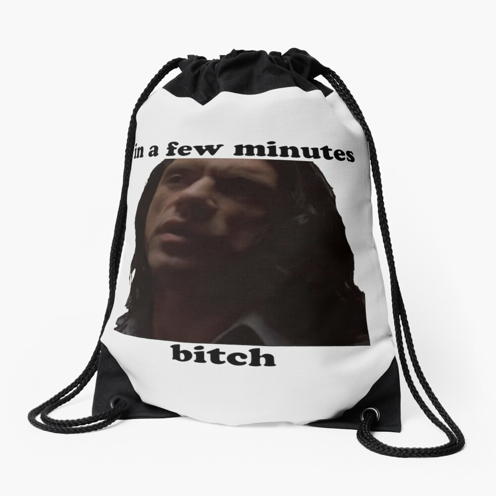 In a few minutes The Room Drawstring Bag