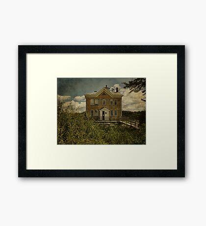 Lighthouse at Saugerties Framed Print
