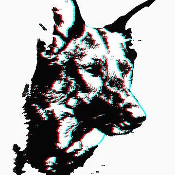 Rin Tin Tin 3D by kwinz
