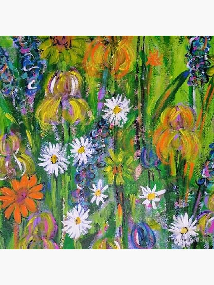 Field of Flowers by amyredfordart