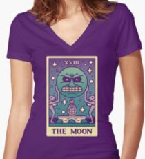MAJORAS TAROT Women's Fitted V-Neck T-Shirt