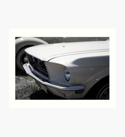 68 Ford Mustang Art Print