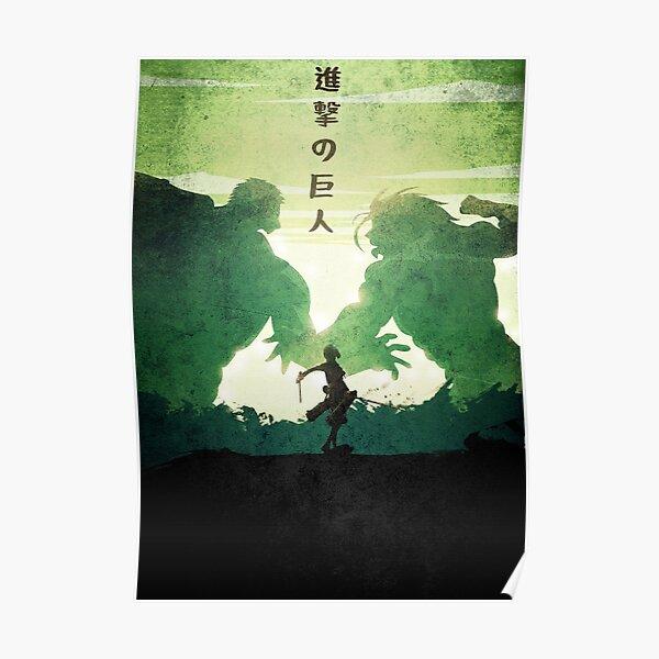 attack on titan design 35 Poster