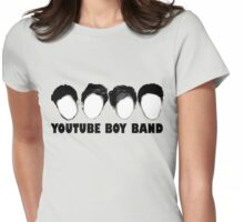 The YouTube Boy Band Womens Fitted T-Shirt