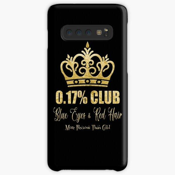 The 0.17% Club - Blue Eyes & Red Hair - More Precious Than Gold Samsung Galaxy Snap Case