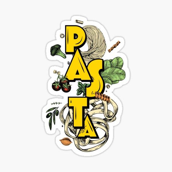 The Ultimate Pasta Sticker