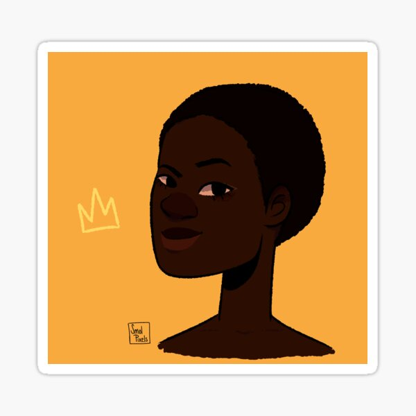 Dark Skin n' Proud  Sticker