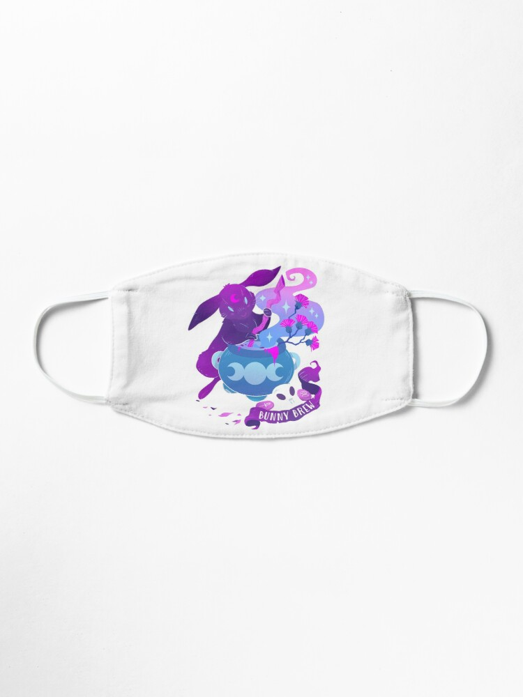 Alternate view of Moon Bunny Mask