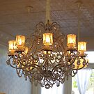 Shabby Chic Chandelier by SizzleandZoom