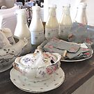 Shabby Chic Tablescape by SizzleandZoom