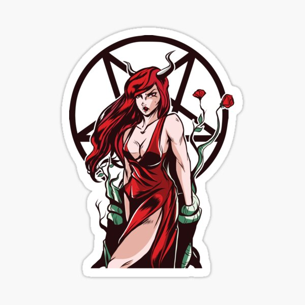INANNA Sticker Goddess Sticker Gift For Relative ISHTAR Sticker Home Decor Gift LILITH Art Sticker