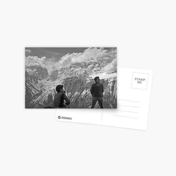 Sherpas at Annapurna Postcard