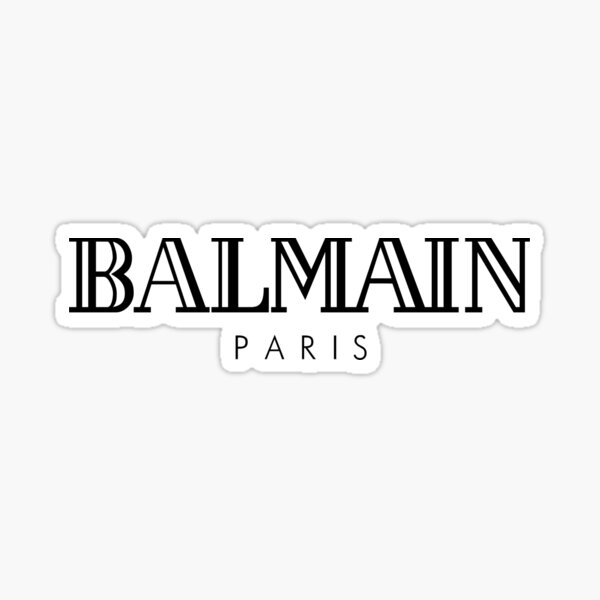 BALMAIN MERCH Sticker