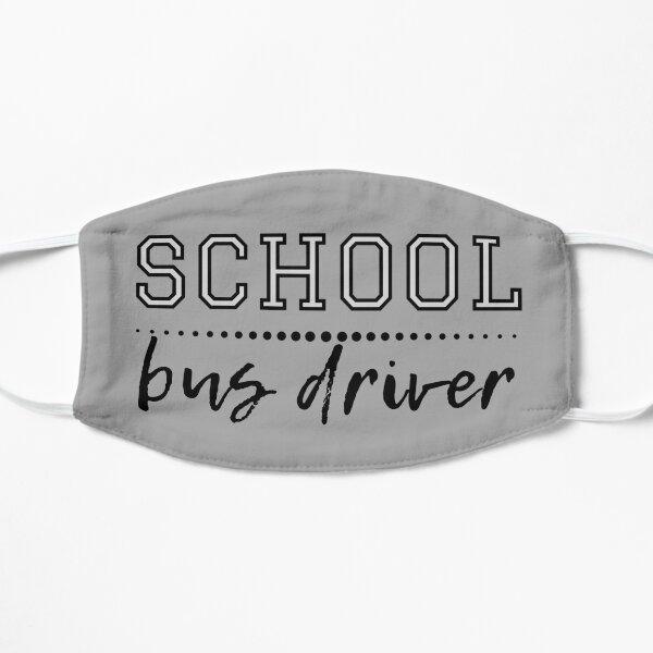 Chauffeur d'autobus scolaire Masque sans plis