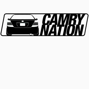 Camry Nation - Gen 5 Black Alternate by JBezugly