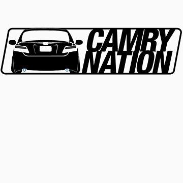 Camry Nation - Gen 6 Black Alternate by JBezugly