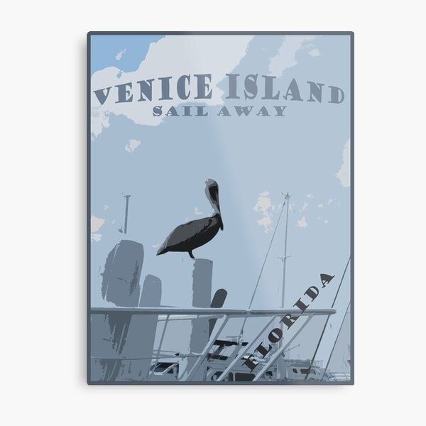 Venice Island Metal Print