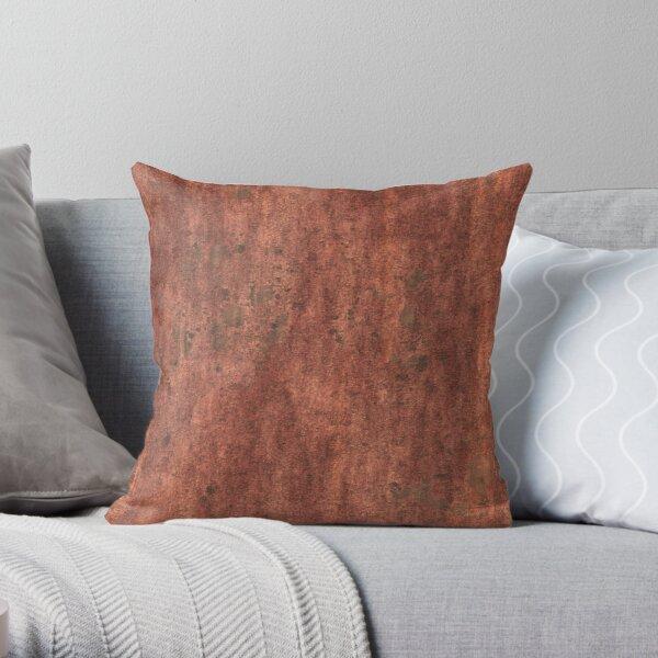 Rust Throw Pillow