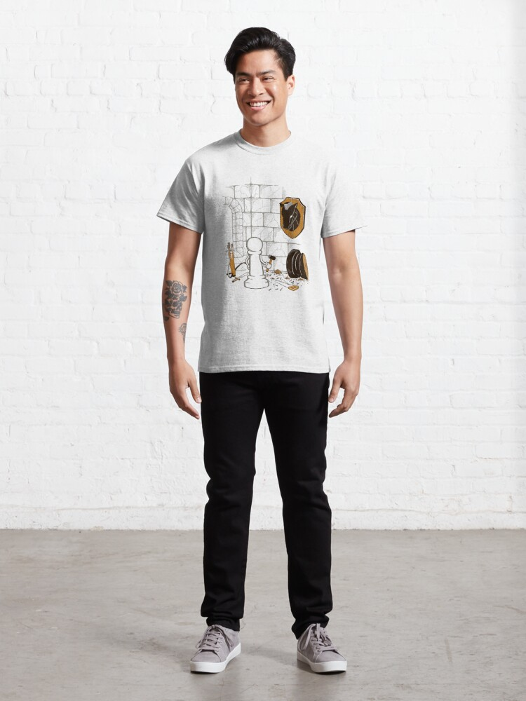 Alternate view of A Pawn's World Classic T-Shirt