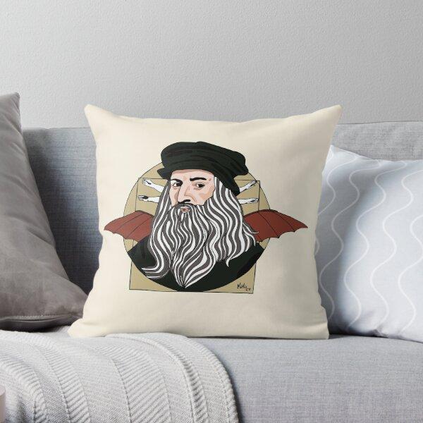 Leonardo Da Vinci  Cojín
