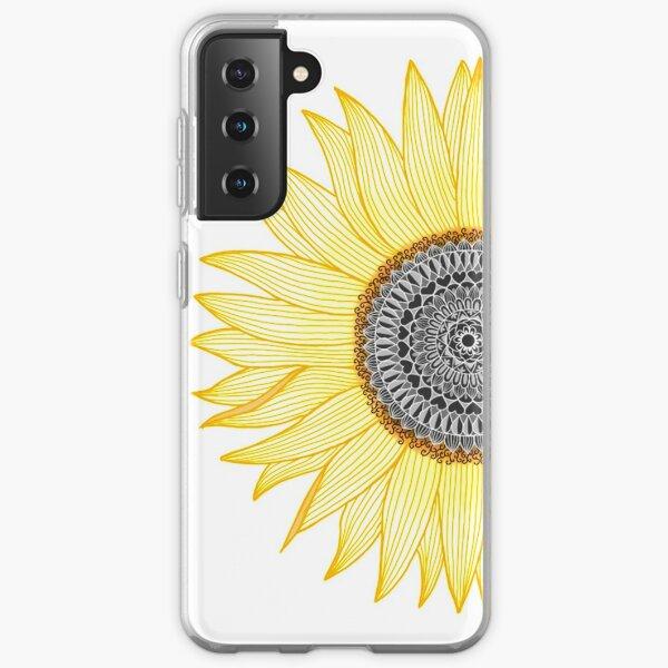 Golden Mandala Sunflower Samsung Galaxy Soft Case
