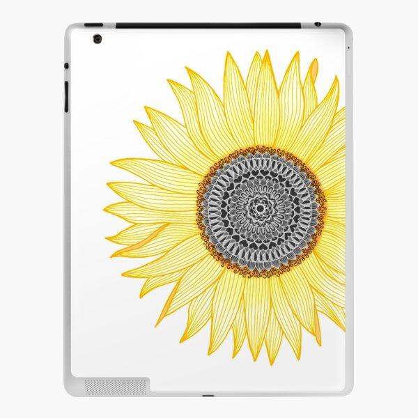 Golden Mandala Sunflower iPad Skin