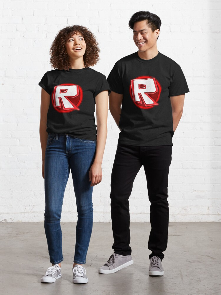 R For Roblox Roblox T Shirt By Elkevandecastee Redbubble