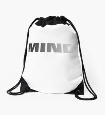 Mind Drawstring Bag