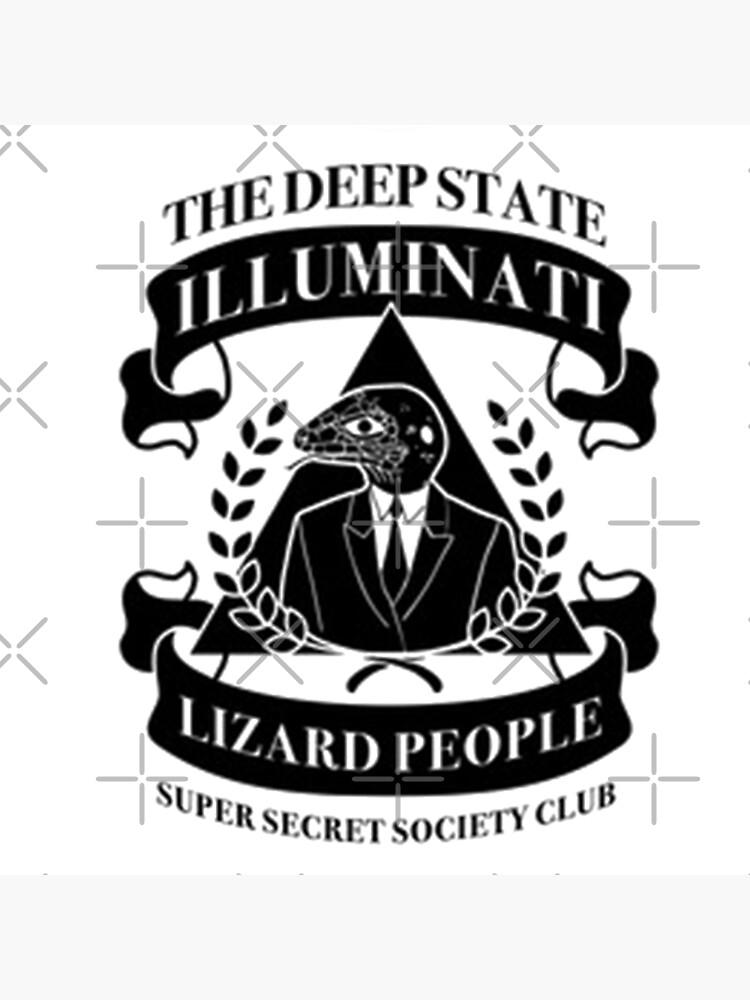 Deepstate Illuminati Lizard People Secret Society Club by poland-ball