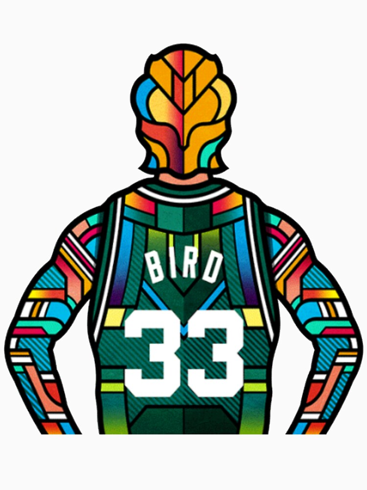 Larry Bird - Stained Glass de AlexLopes