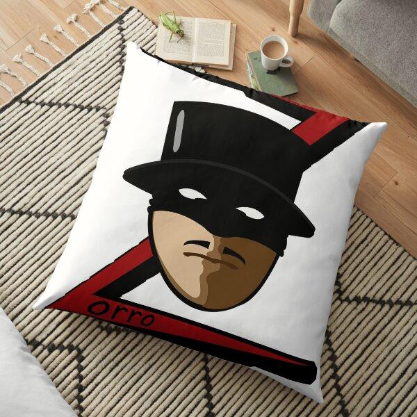 Zorro fan art Floor Pillow