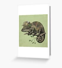 Born to Hide - color option Greeting Card