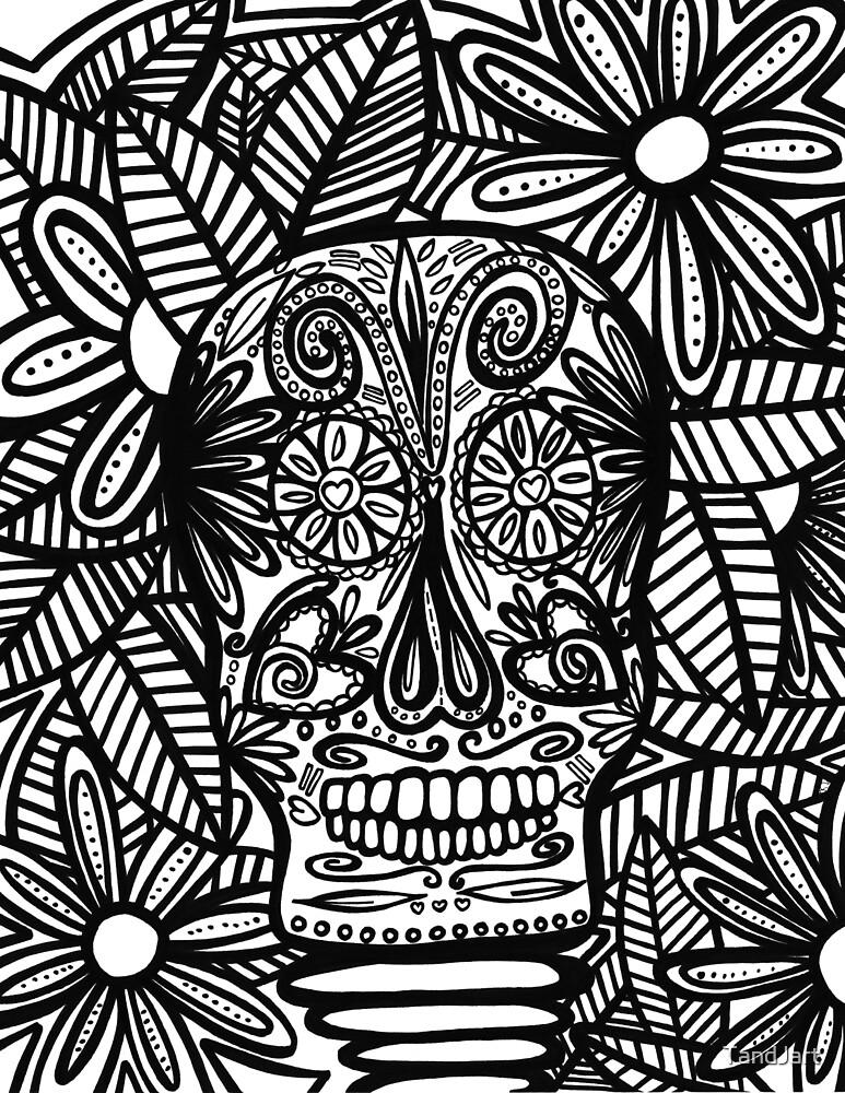 Skull by TandJart