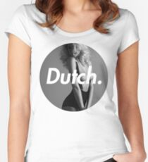 Dutch Blonde Women's Fitted Scoop T-Shirt