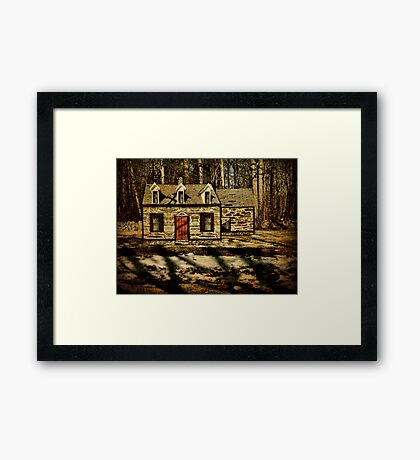 The Guard House That Was Framed Print